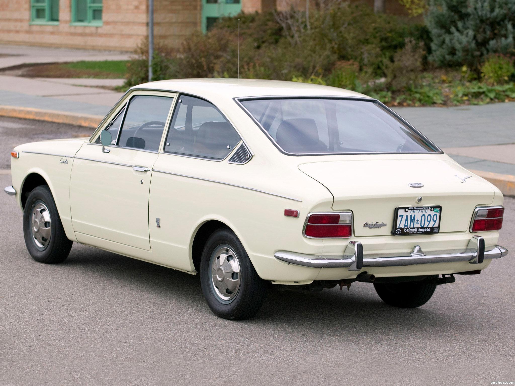 Foto 2 de Toyota Corolla Sprinter E15-17 1970