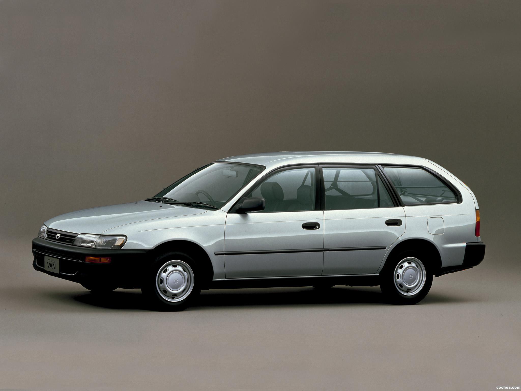 Foto 0 de Toyota Corolla Van Japan 1992