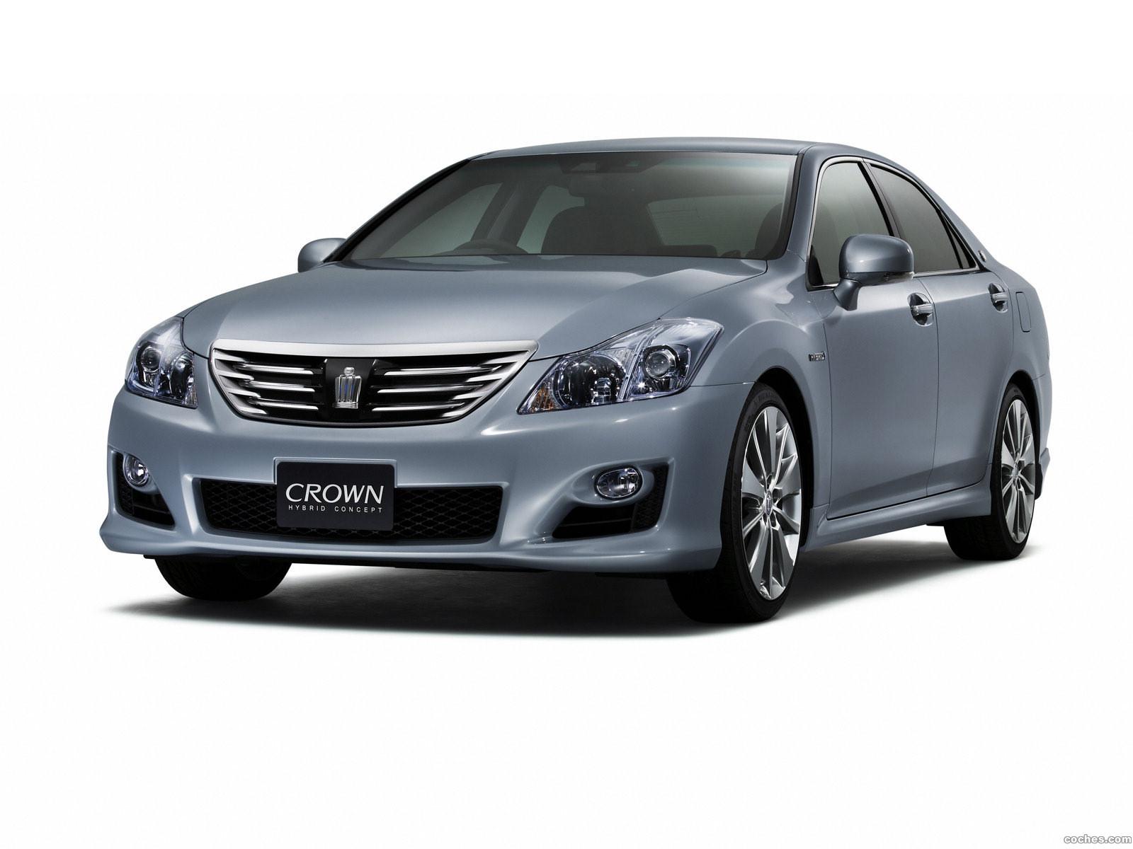 Foto 0 de Toyota Crown Hybrid Concept 2007