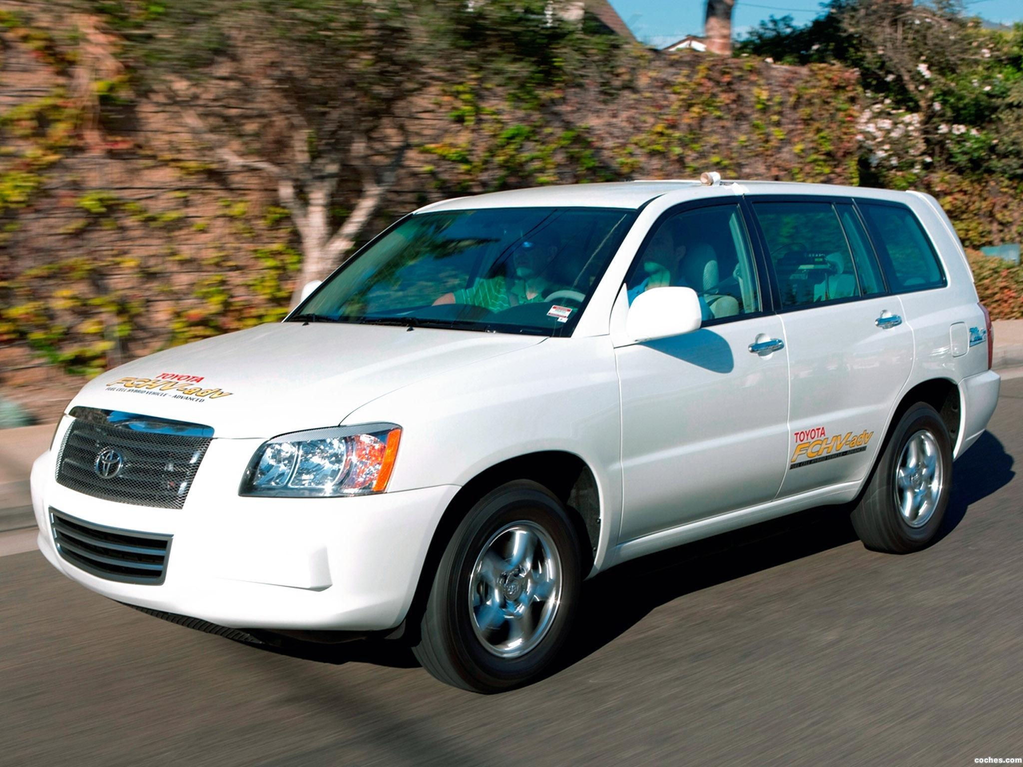 Foto 0 de Toyota FCHV adv Hydrogen Fuel Cell 2009