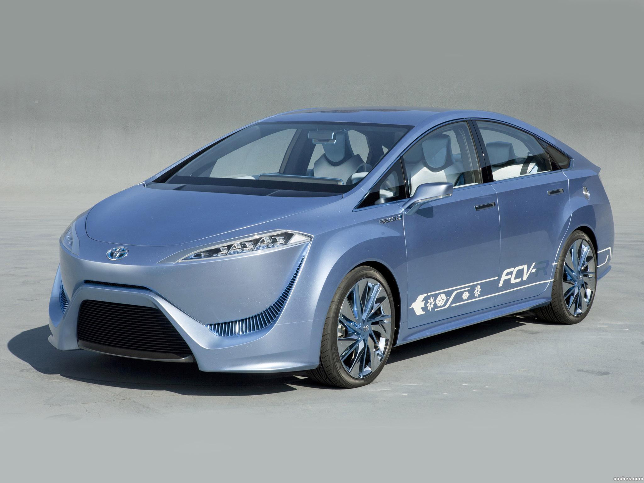 Foto 0 de Toyota FCV-R Concept 2011