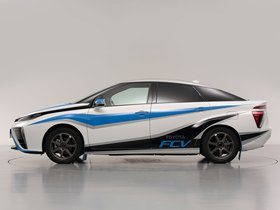 Ver foto 5 de Toyota FCV Rally Zero Car 2014