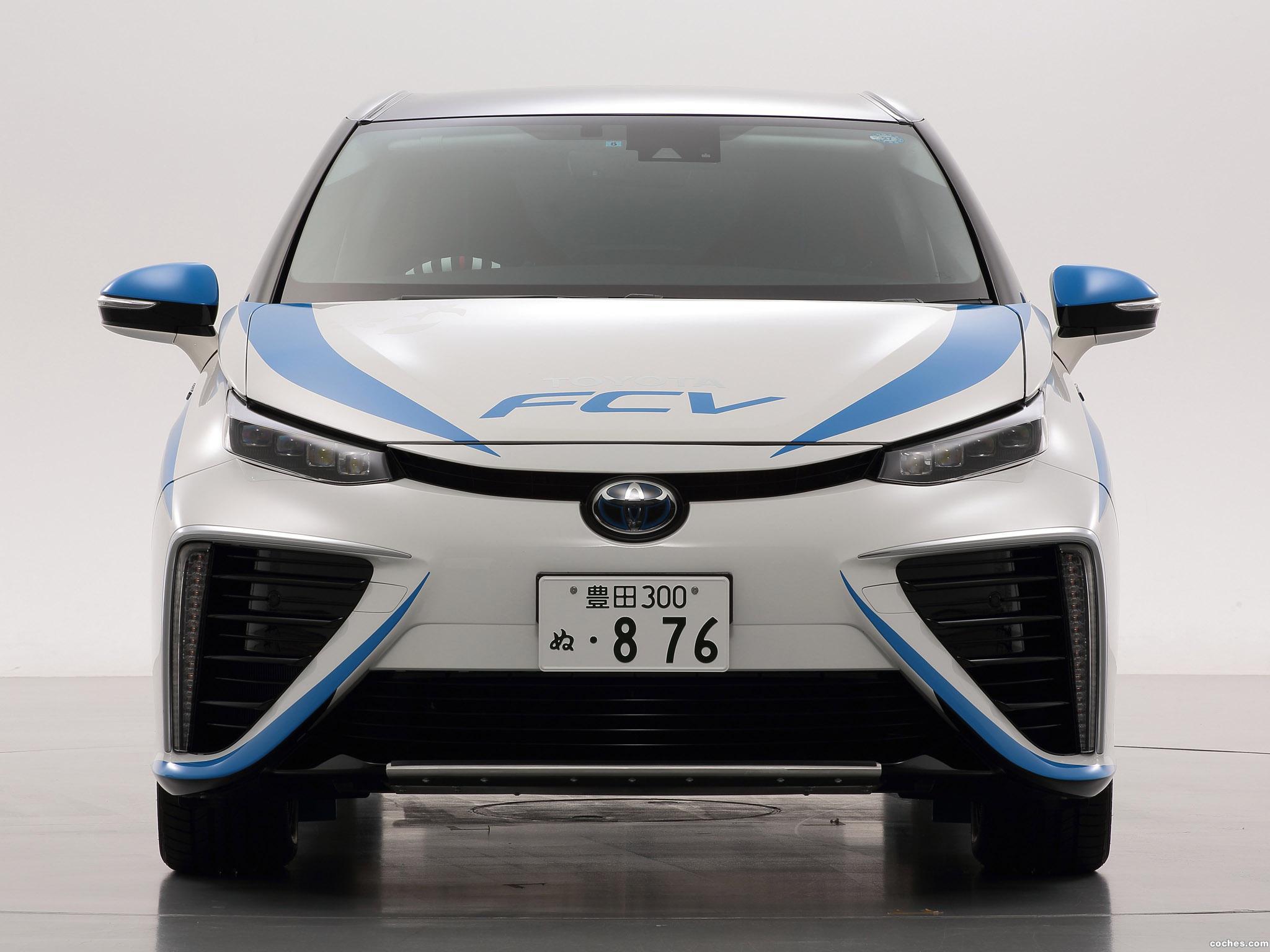 Foto 3 de Toyota FCV Rally Zero Car 2014
