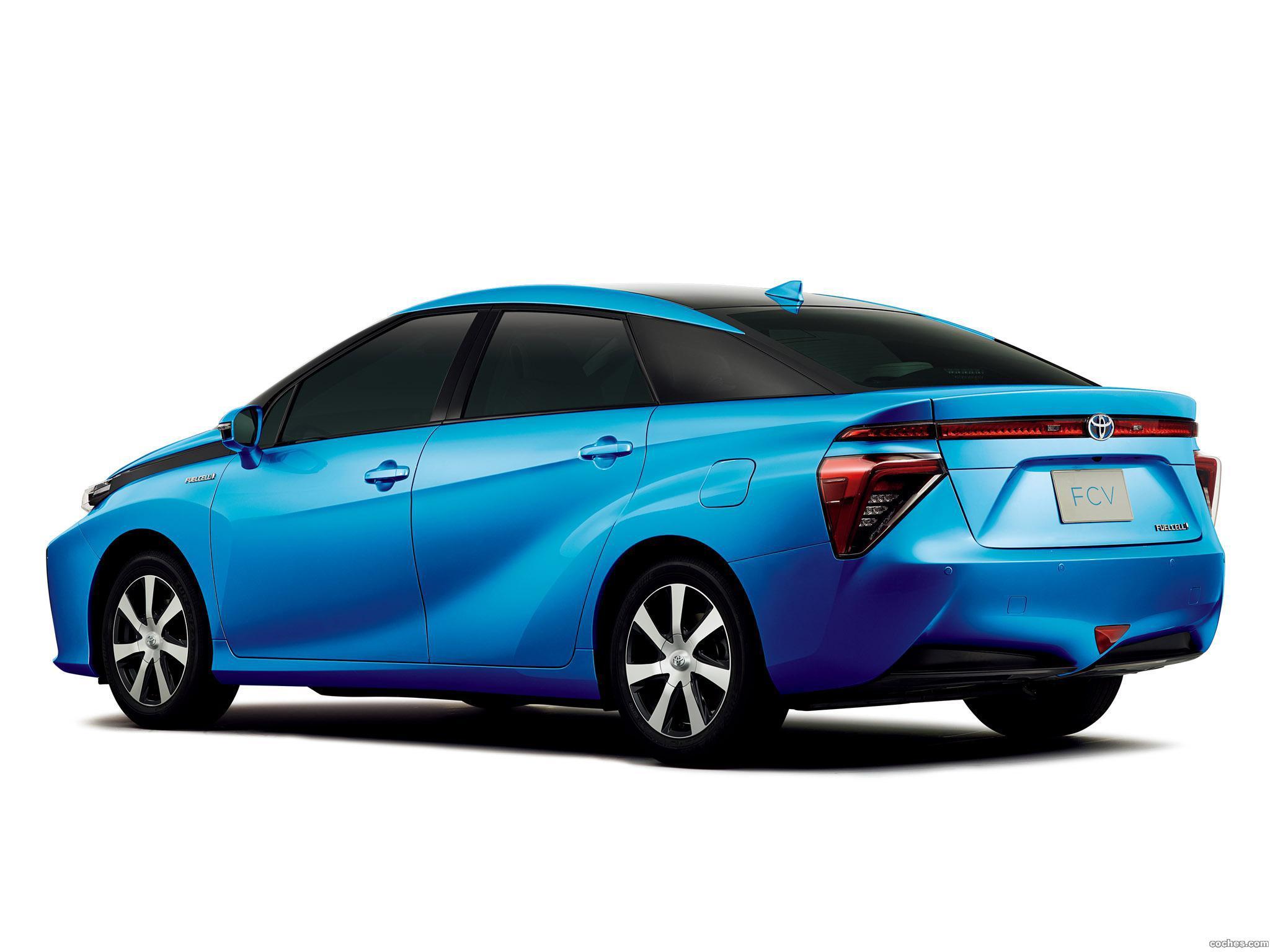 Foto 5 de Toyota FCV 2015