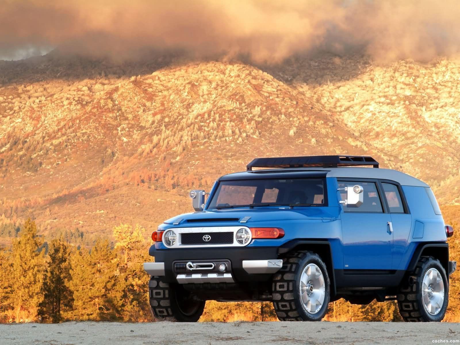 Foto 0 de Toyota FJ Cruiser Concept 2003
