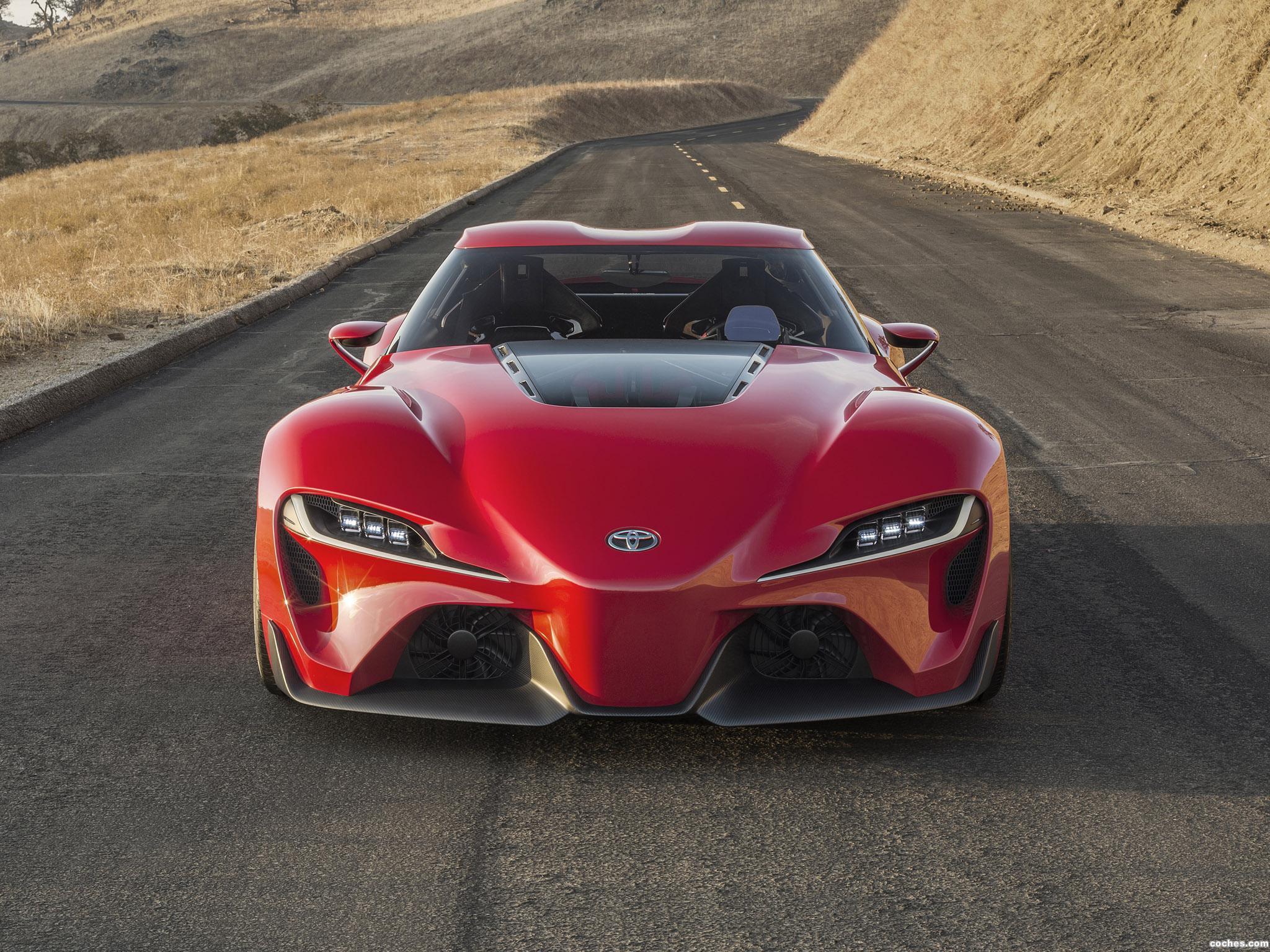 Foto 0 de Toyota FT-1 Concept 2014