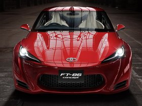 Ver foto 10 de Toyota FT-86 RWD Sports Coupe Concept 2009