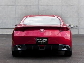 Ver foto 6 de Toyota FT-86 RWD Sports Coupe Concept 2009