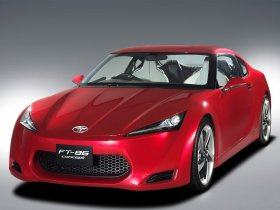 Ver foto 2 de Toyota FT-86 RWD Sports Coupe Concept 2009