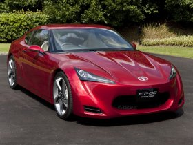 Fotos de Toyota FT-86 RWD Sports Coupe Concept 2009