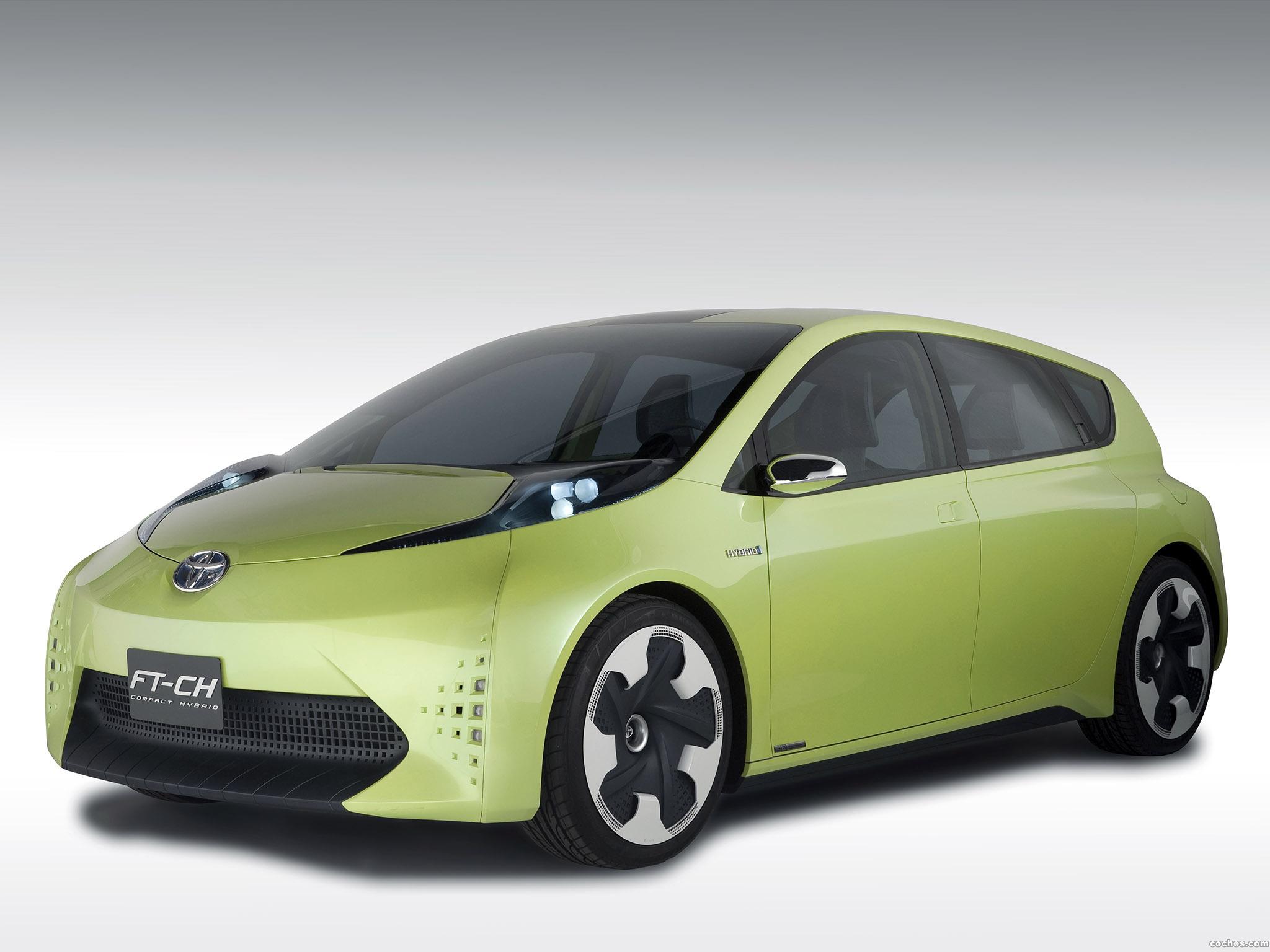 Foto 0 de Toyota FT-CH Concept 2010