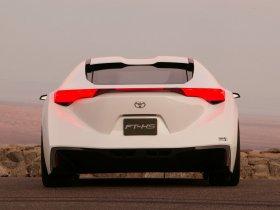 Ver foto 3 de Toyota FT-HS Concept 2007