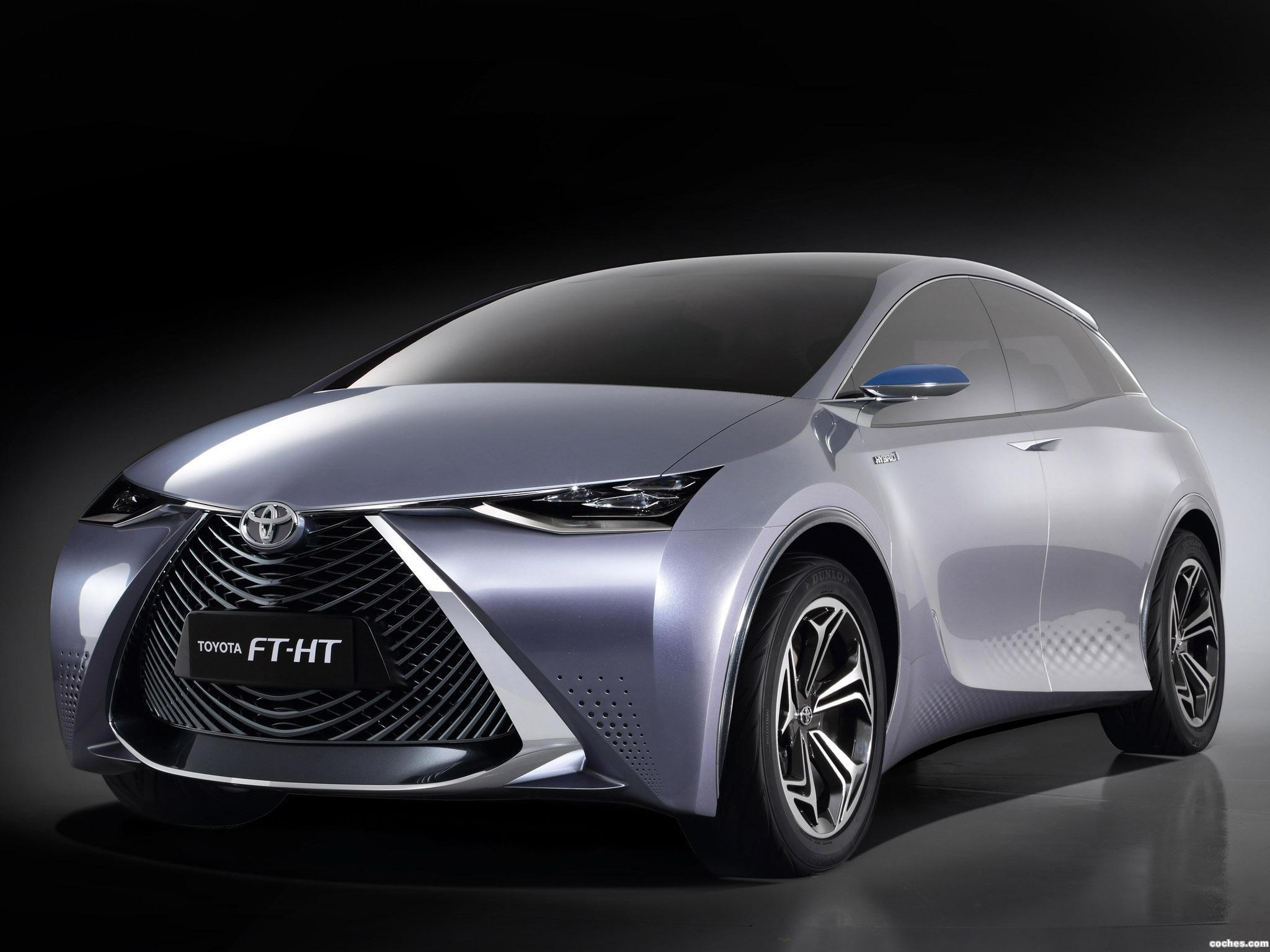 Foto 0 de Toyota FT-HT Concept 2013
