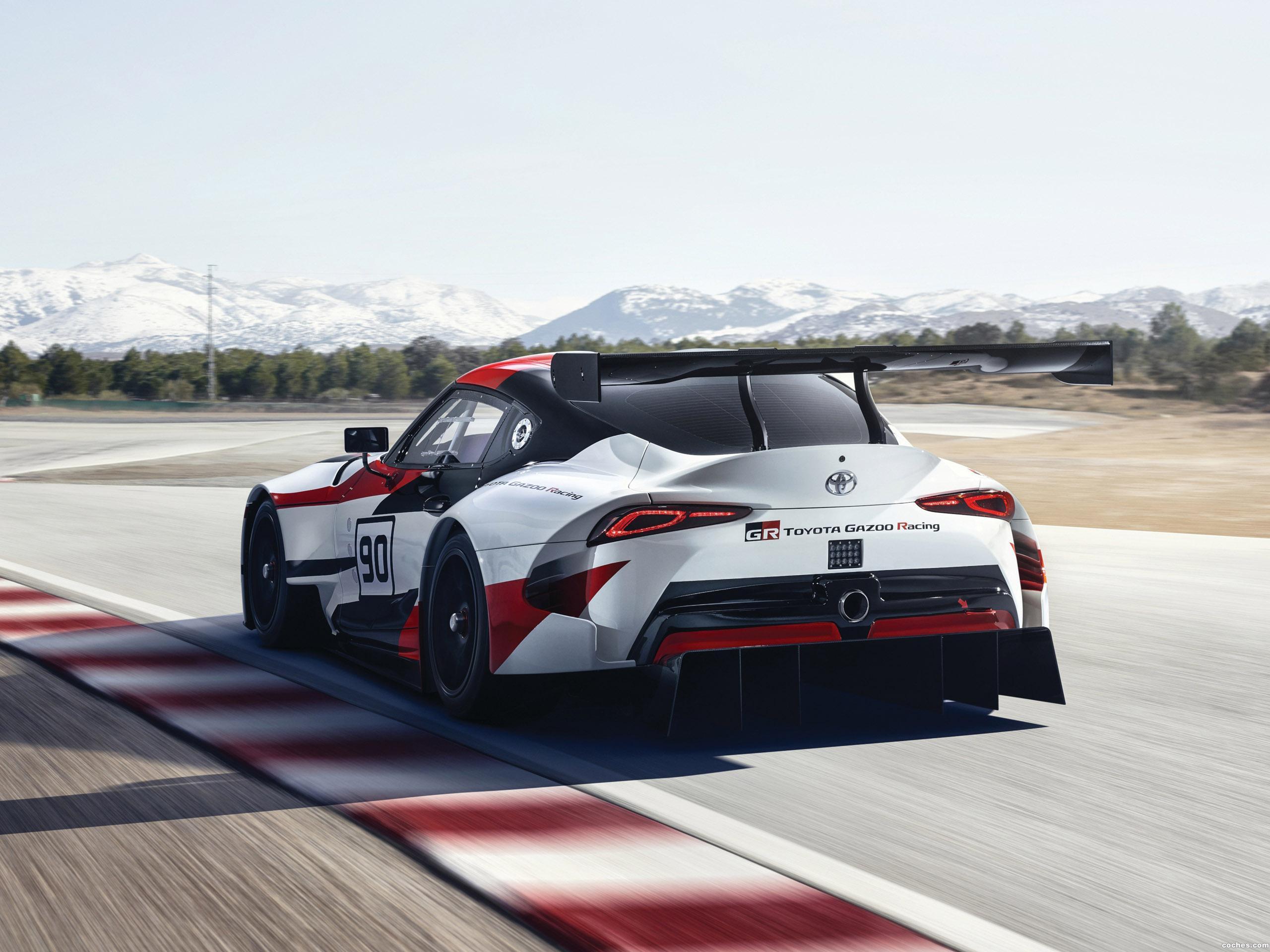 Foto 10 de Toyota GR Supra Racing Concept 2018