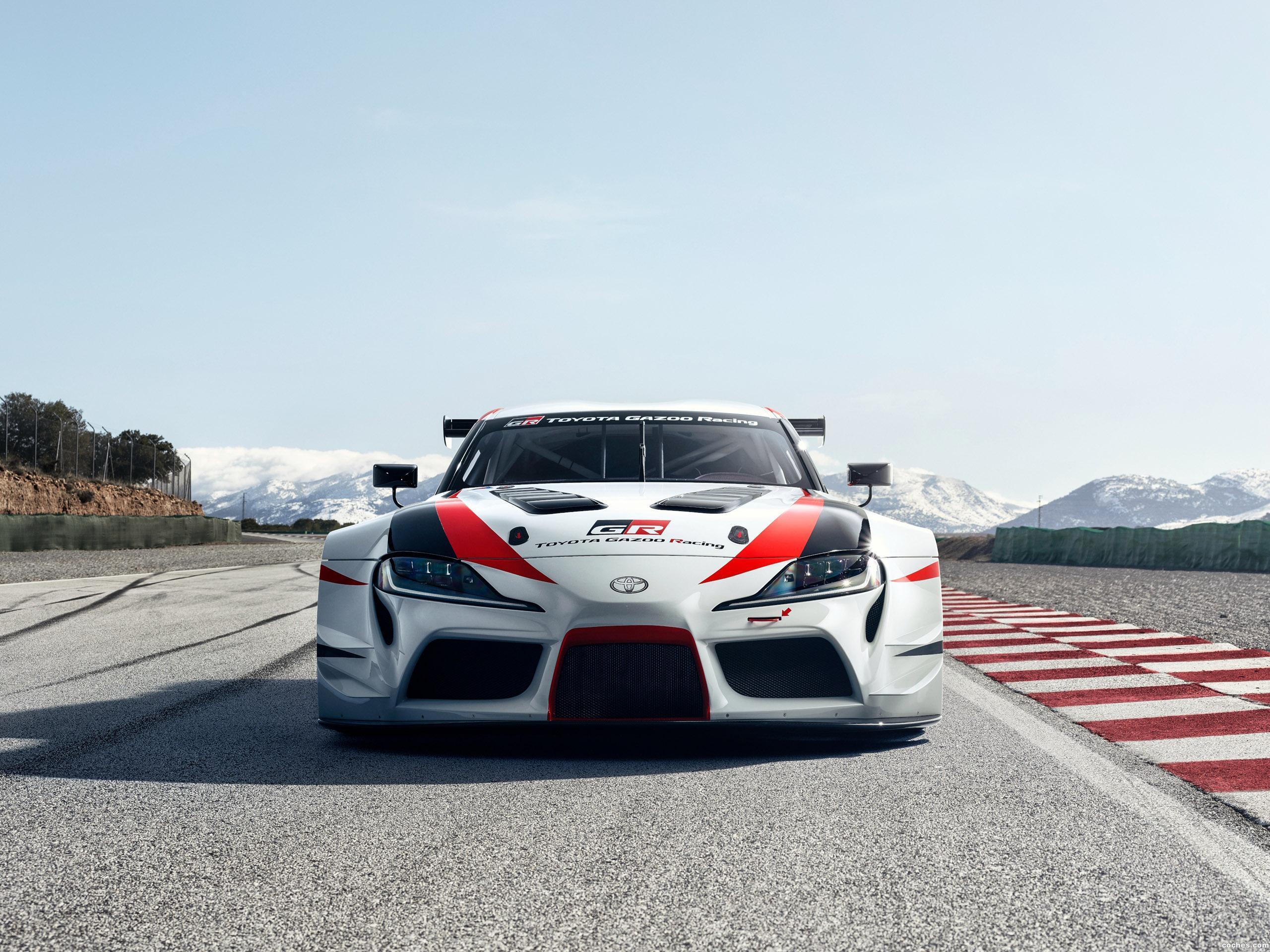 Foto 2 de Toyota GR Supra Racing Concept 2018