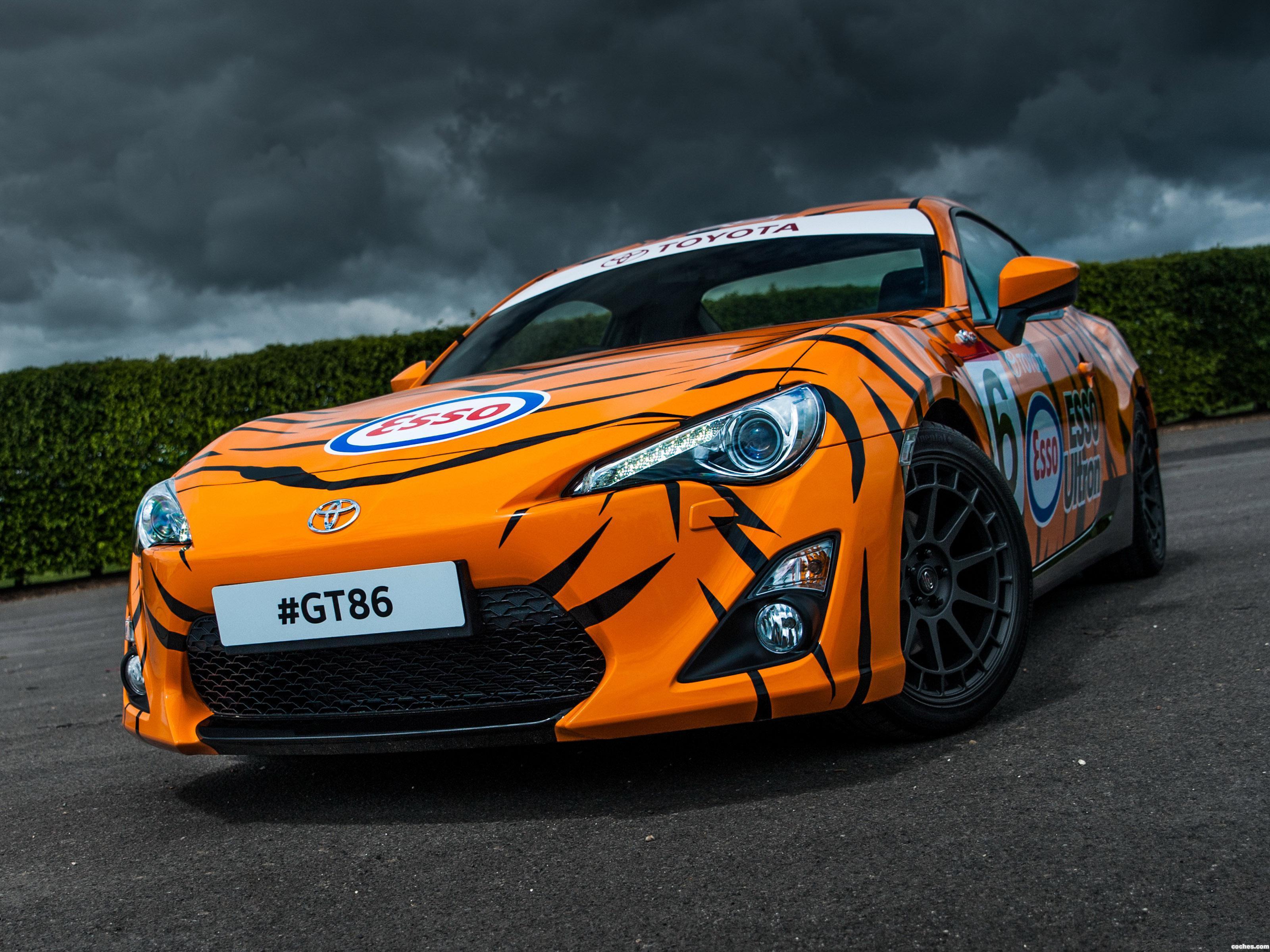 Foto 0 de Toyota GT86 Esso Ultron Tiger Supra 2015