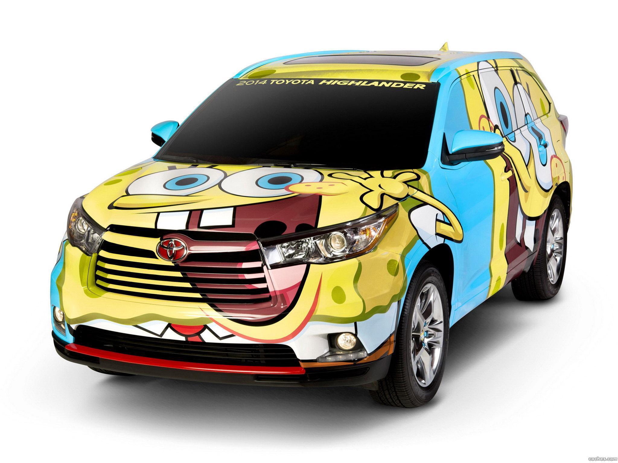 Foto 0 de Toyota Highlander Spongebob Squarepants Concept 2013