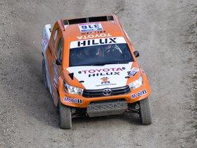 Ver foto 23 de Toyota Hilux Dakar Rally 2016