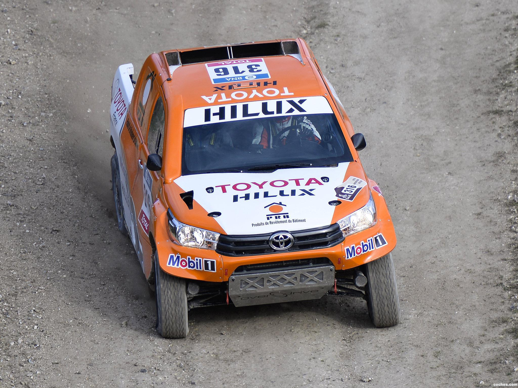 Foto 22 de Toyota Hilux Dakar Rally 2016