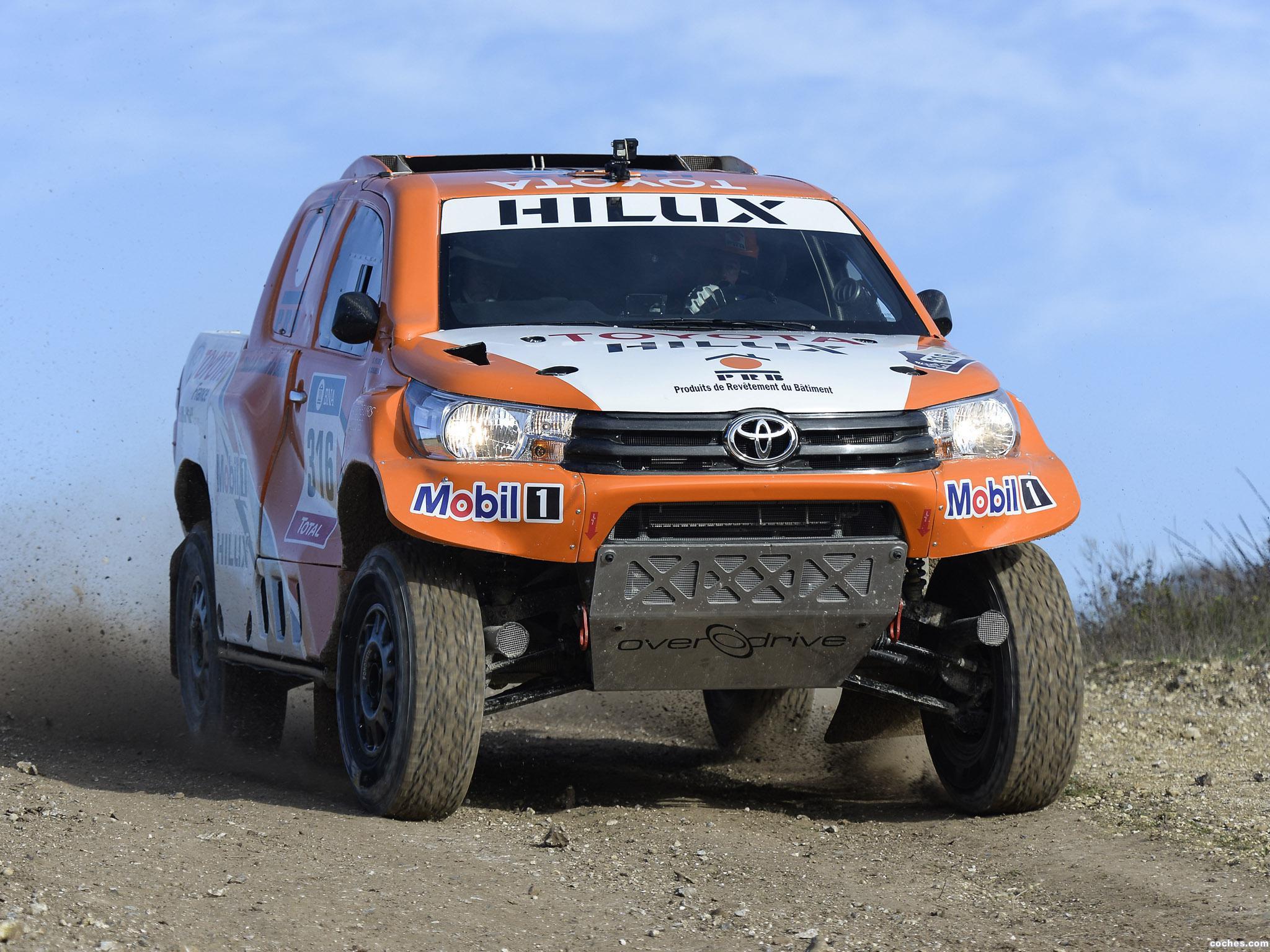 Foto 19 de Toyota Hilux Dakar Rally 2016