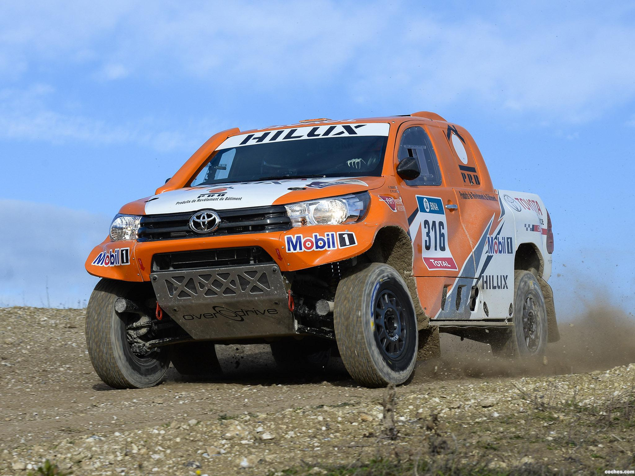 Foto 18 de Toyota Hilux Dakar Rally 2016