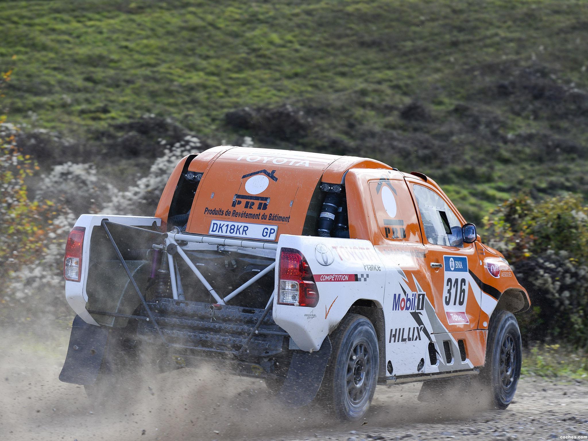 Foto 17 de Toyota Hilux Dakar Rally 2016