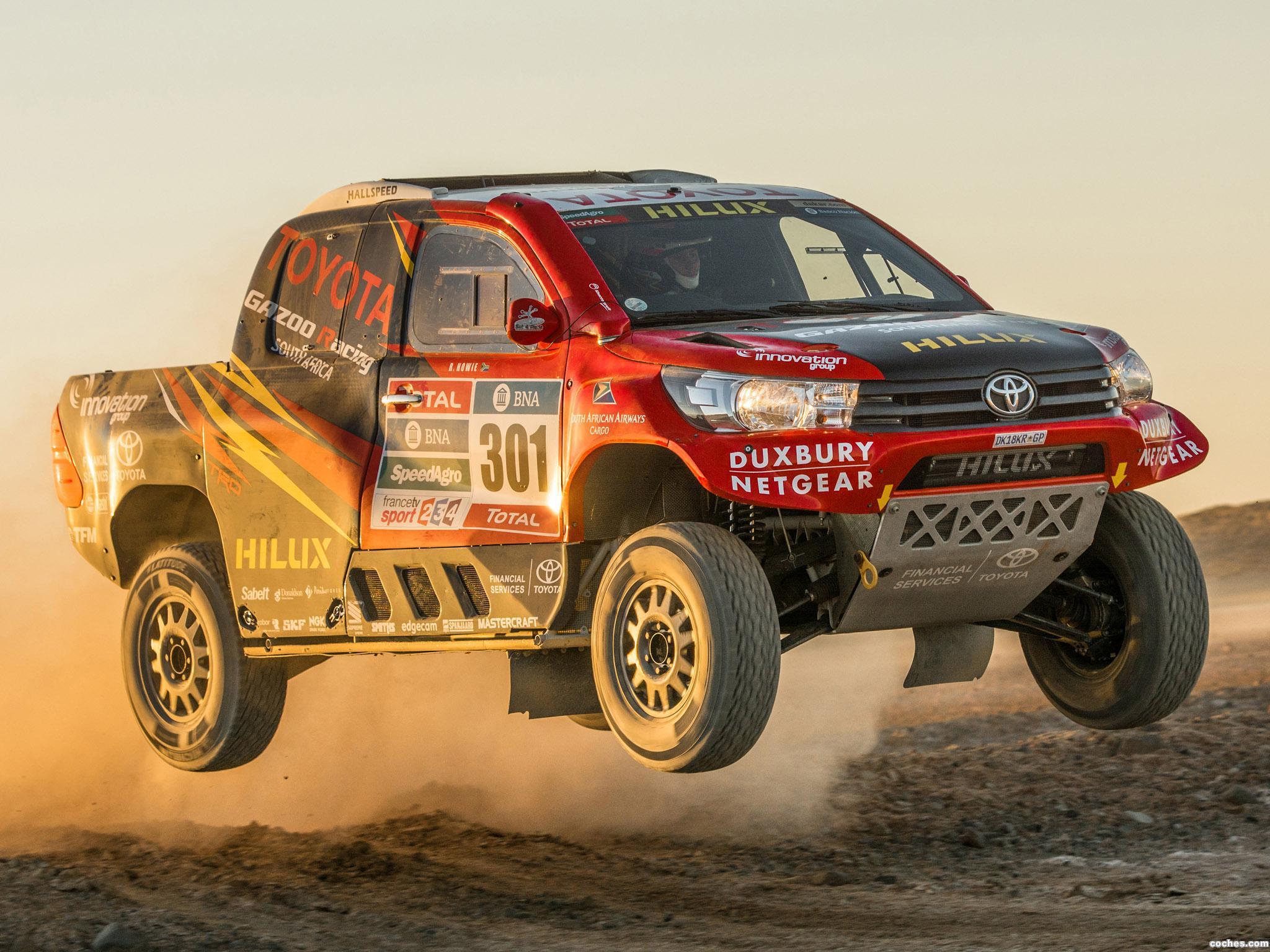 Foto 13 de Toyota Hilux Dakar Rally 2016
