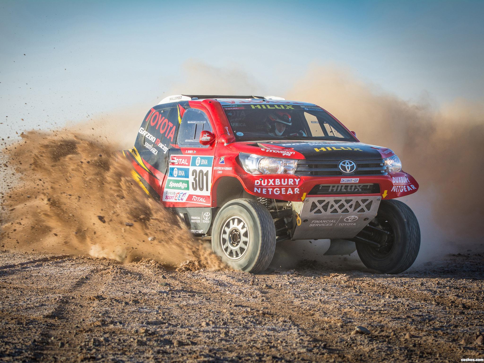 Foto 12 de Toyota Hilux Dakar Rally 2016