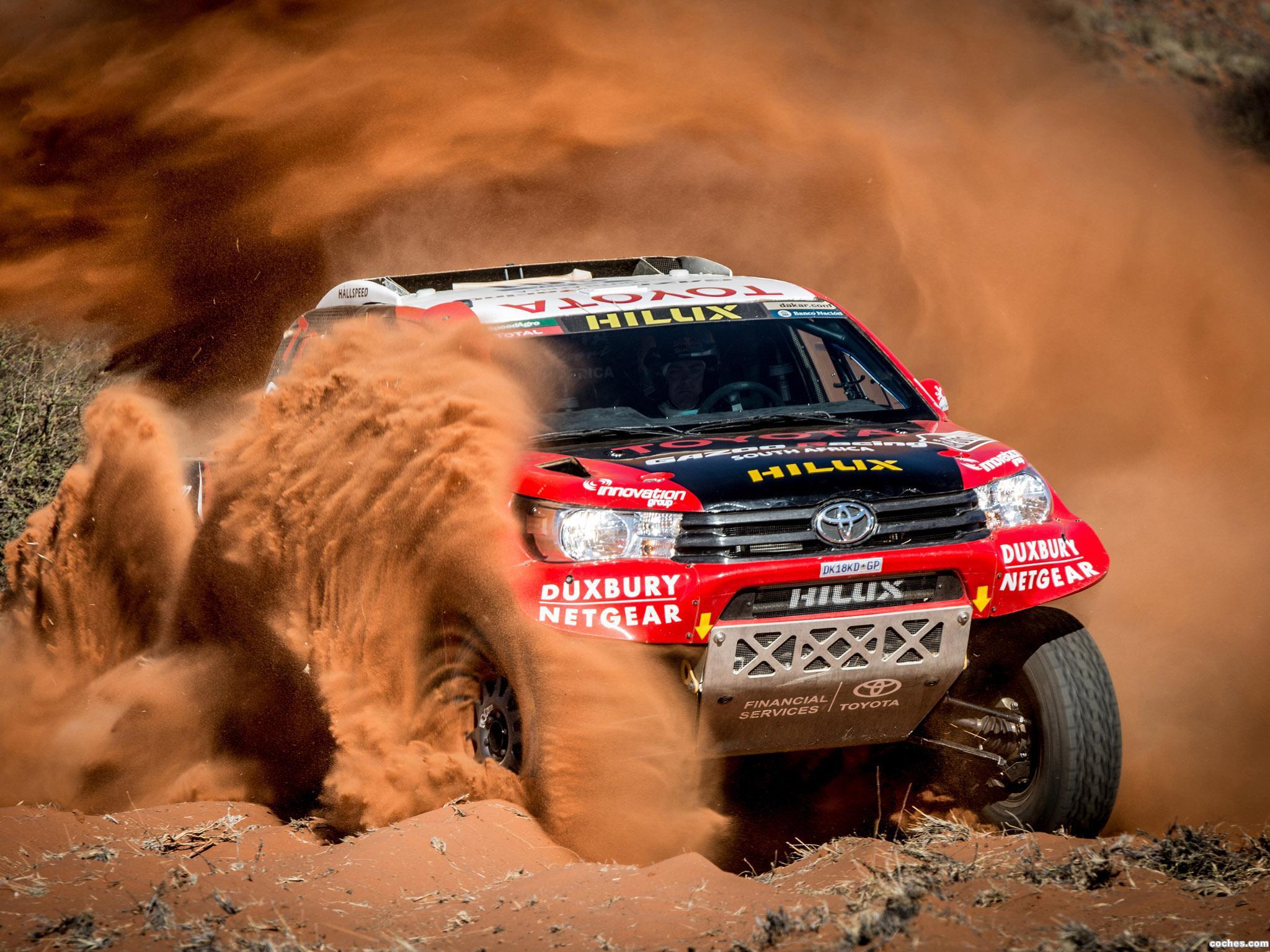 Foto 9 de Toyota Hilux Dakar Rally 2016