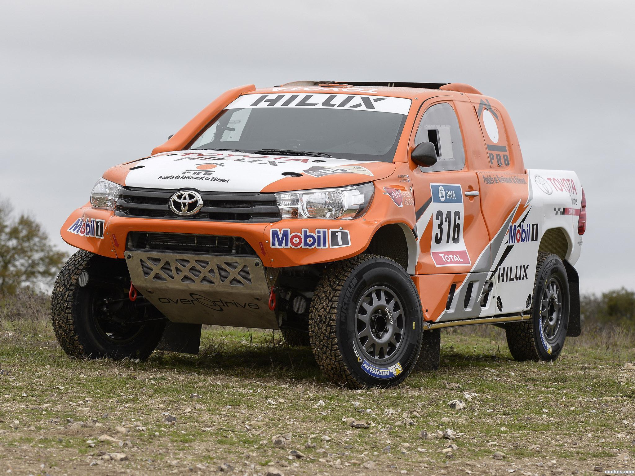 Foto 8 de Toyota Hilux Dakar Rally 2016