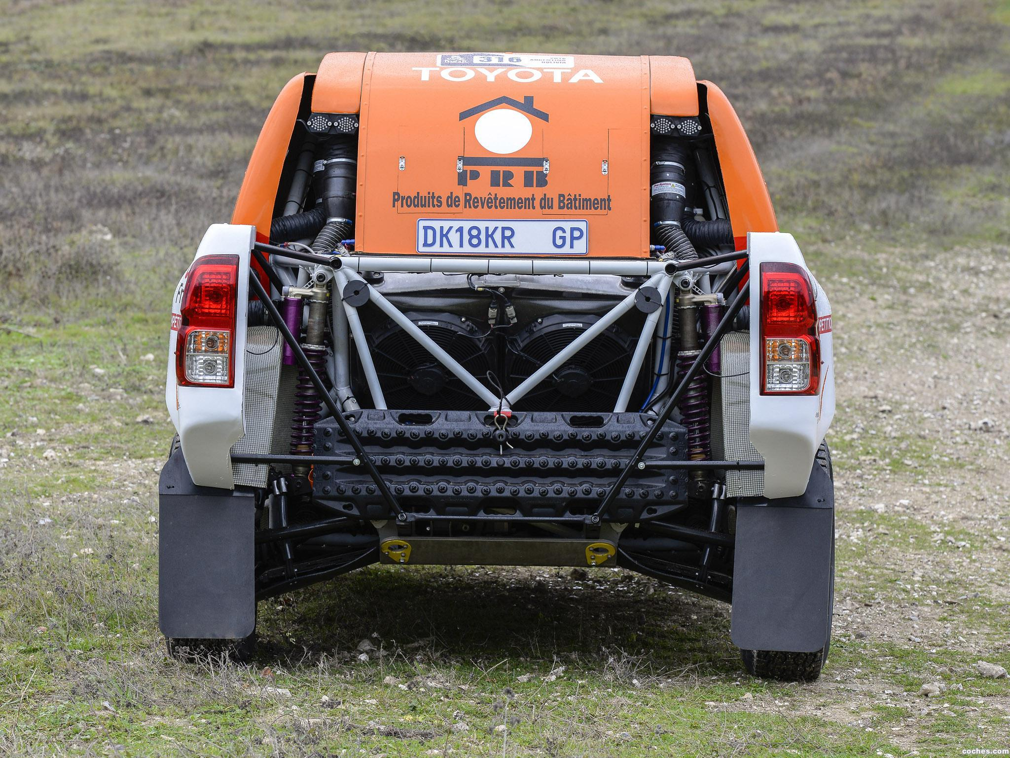 Foto 6 de Toyota Hilux Dakar Rally 2016