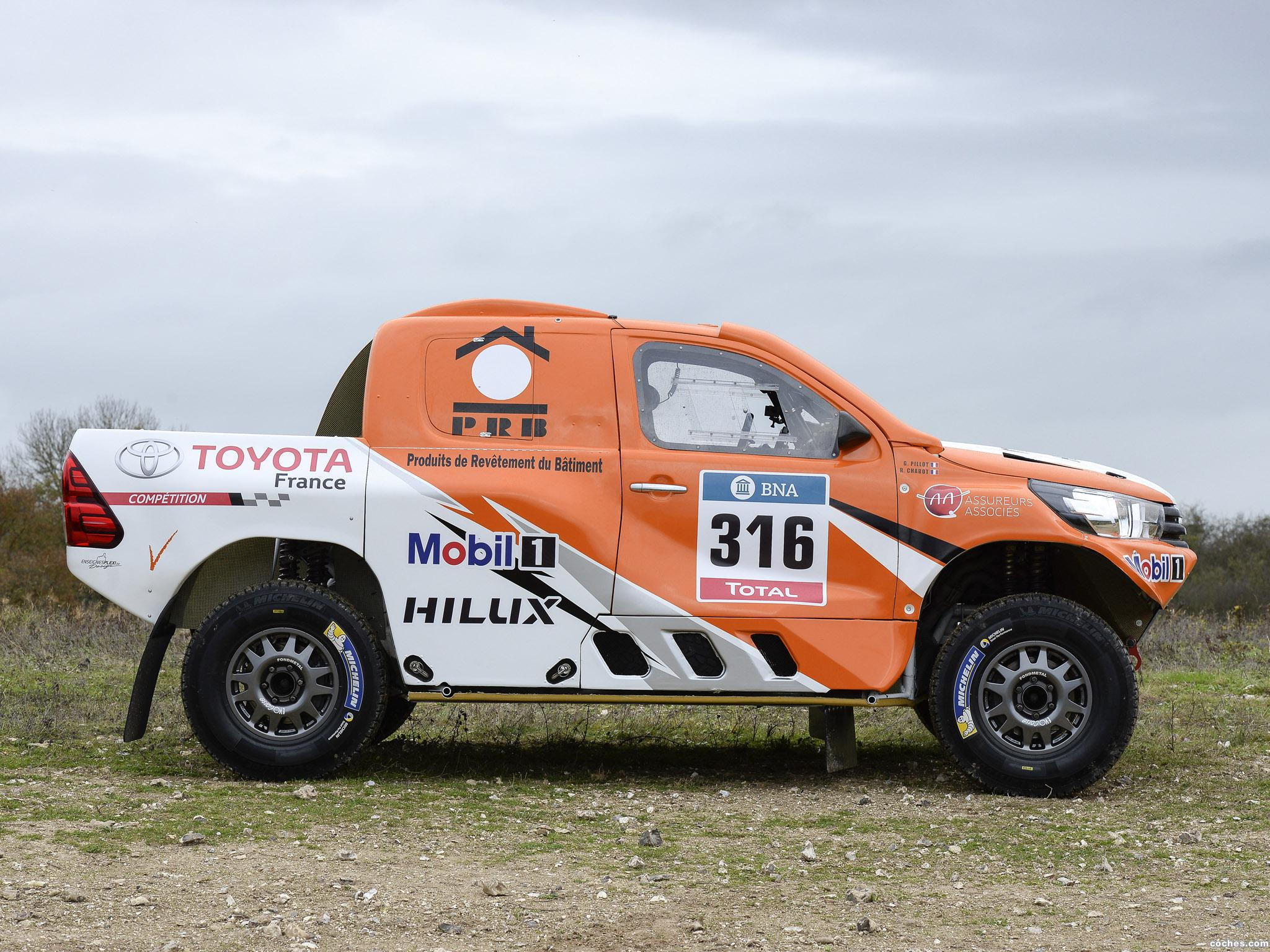 Foto 5 de Toyota Hilux Dakar Rally 2016