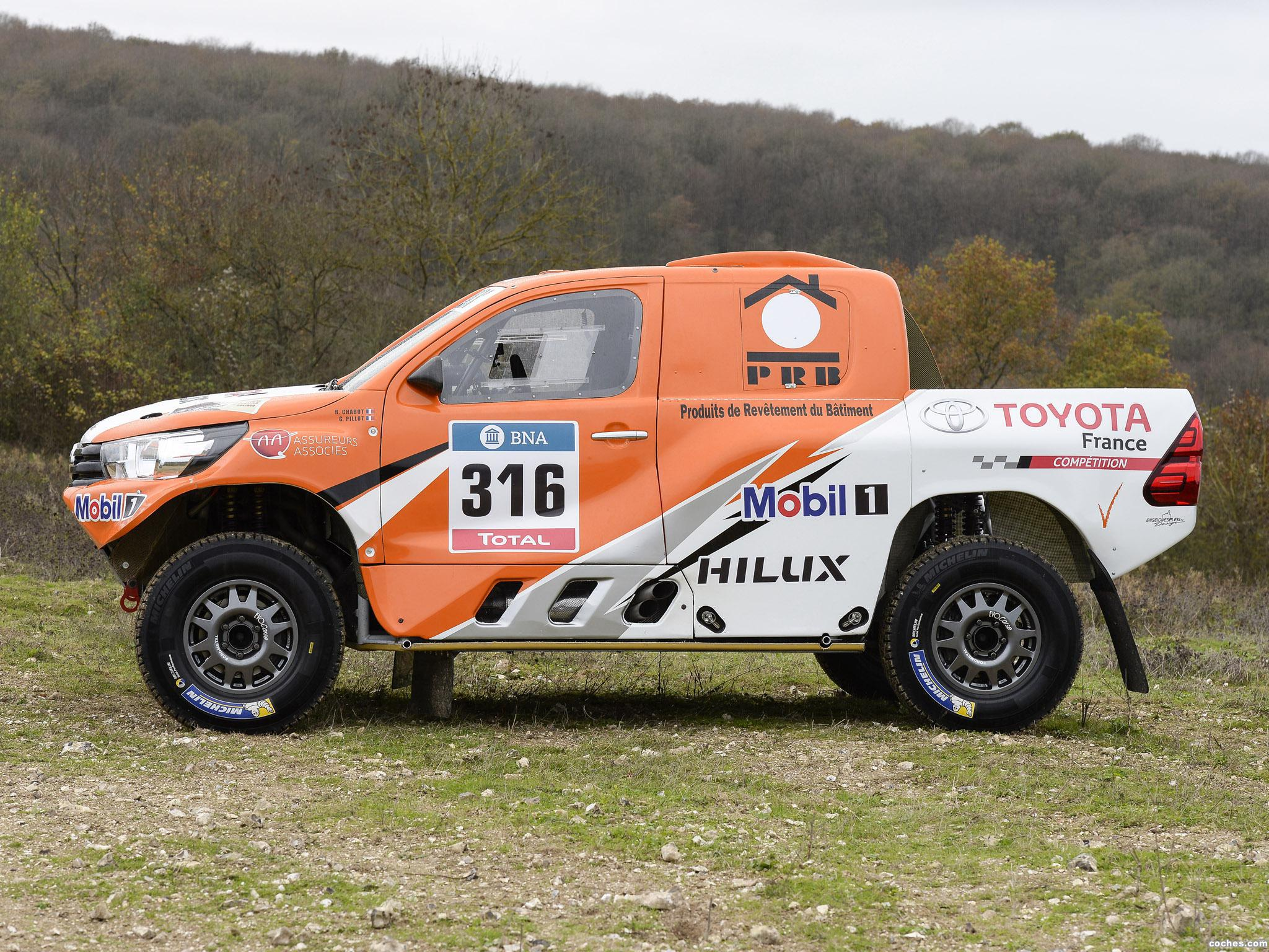 Foto 4 de Toyota Hilux Dakar Rally 2016