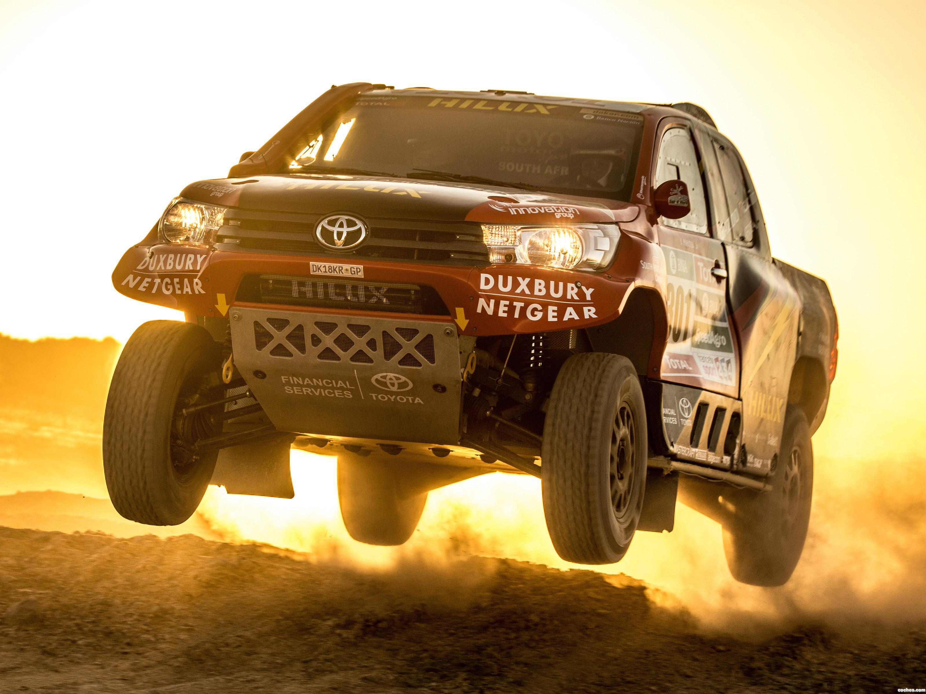 Foto 3 de Toyota Hilux Dakar Rally 2016