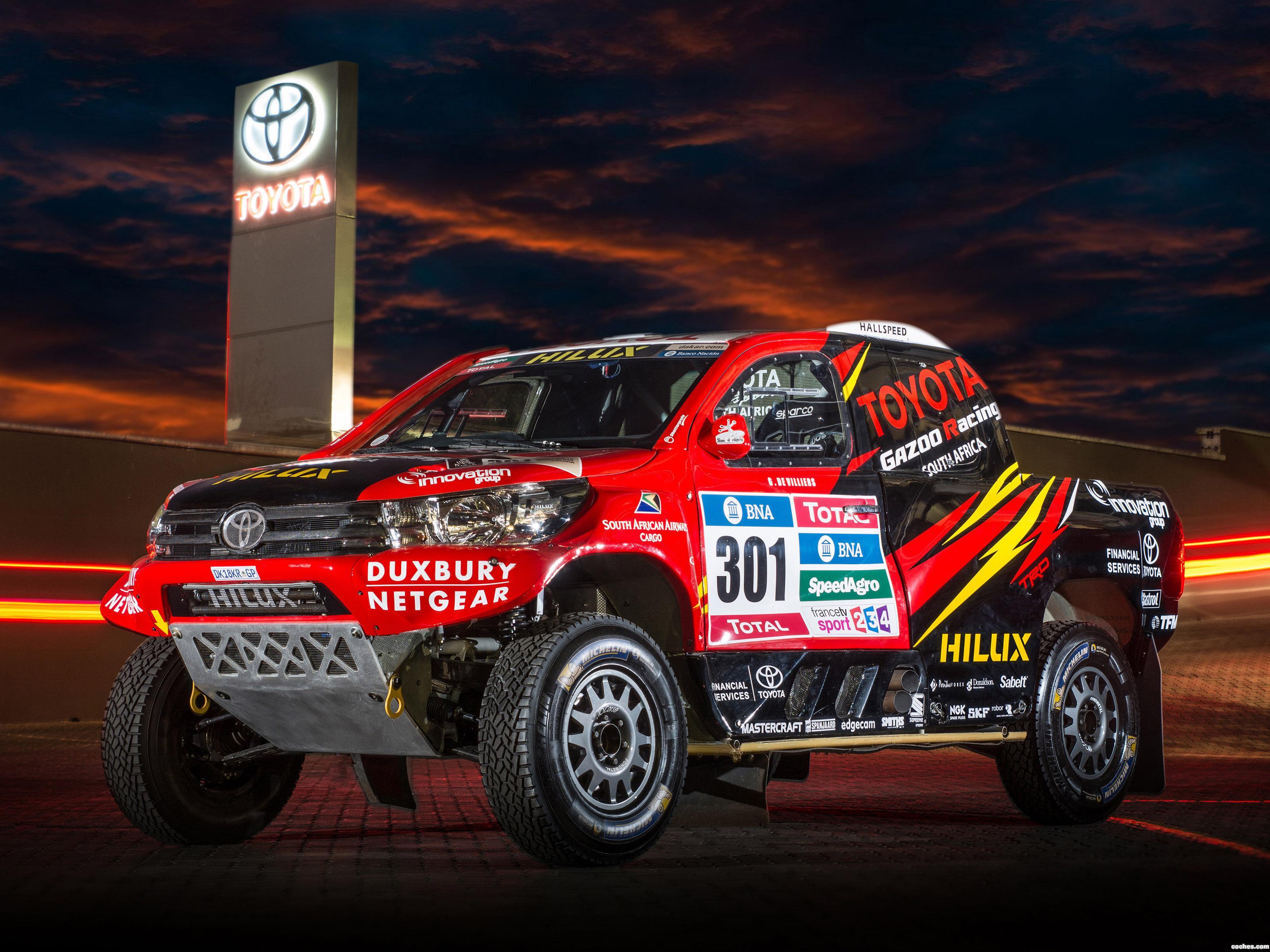 Foto 0 de Toyota Hilux Dakar Rally 2016