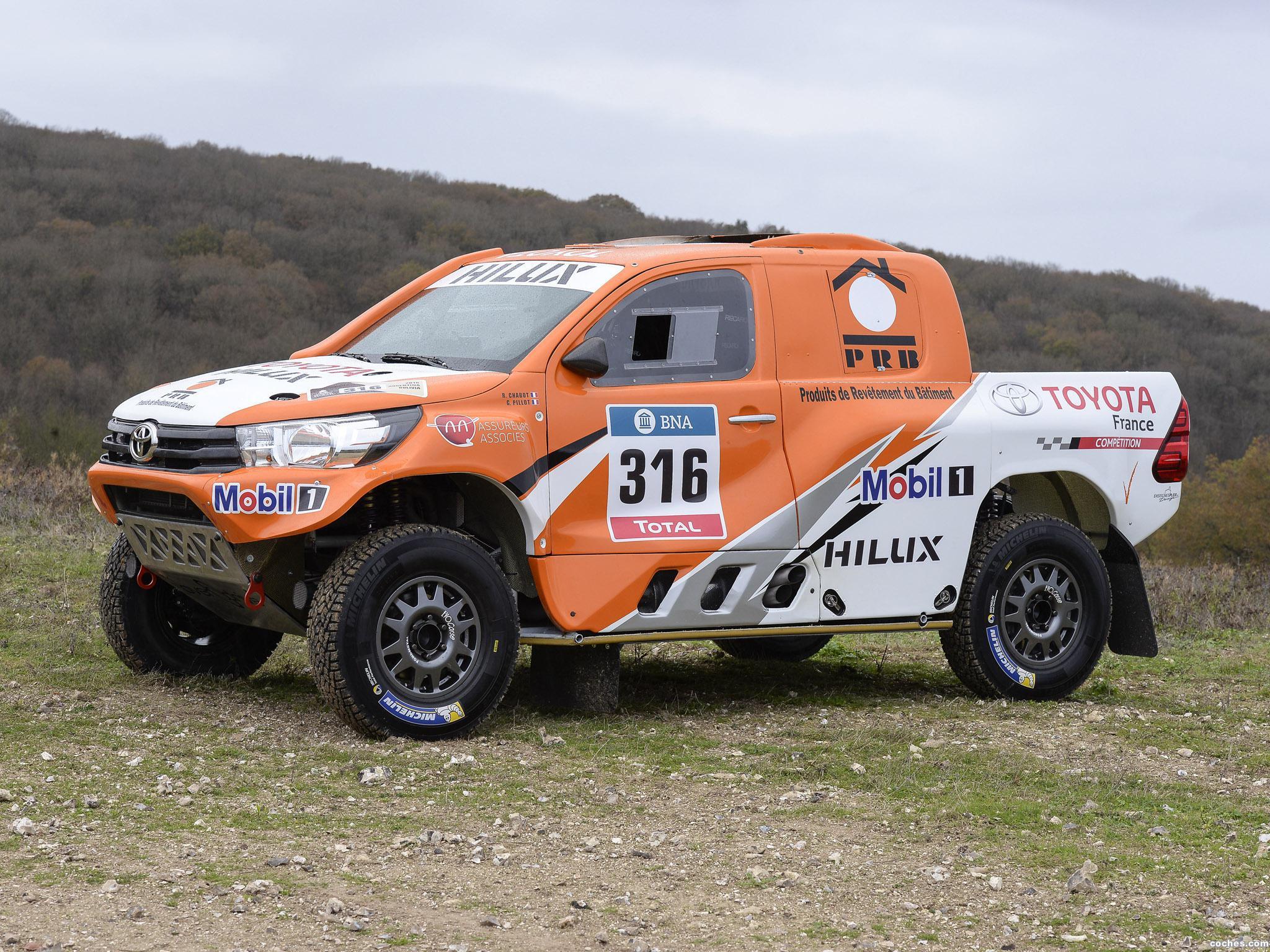 Foto 26 de Toyota Hilux Dakar Rally 2016