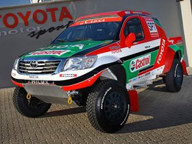 Ver foto 7 de Toyota Hilux Rally Car 2012