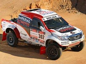 Ver foto 3 de Toyota Hilux Rally Car 2012