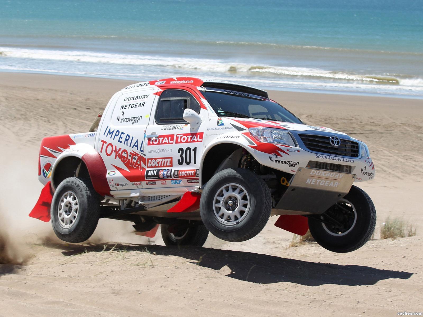 Foto 0 de Toyota Hilux Rally Car 2012
