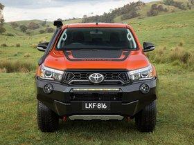 Ver foto 8 de Toyota Hilux Rugged X Double Cab Australia 2018