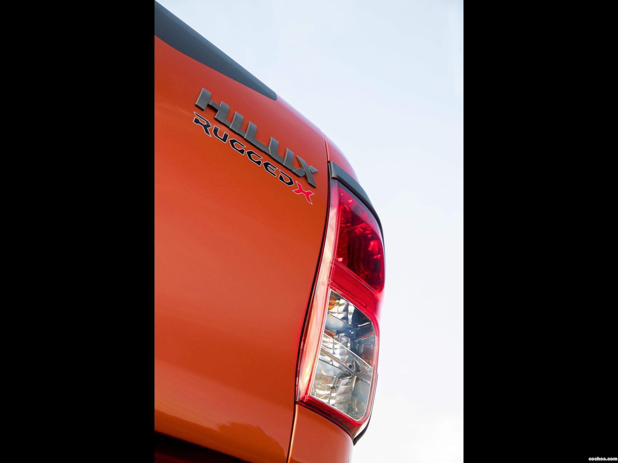 Foto 12 de Toyota Hilux Rugged X Double Cab Australia 2018