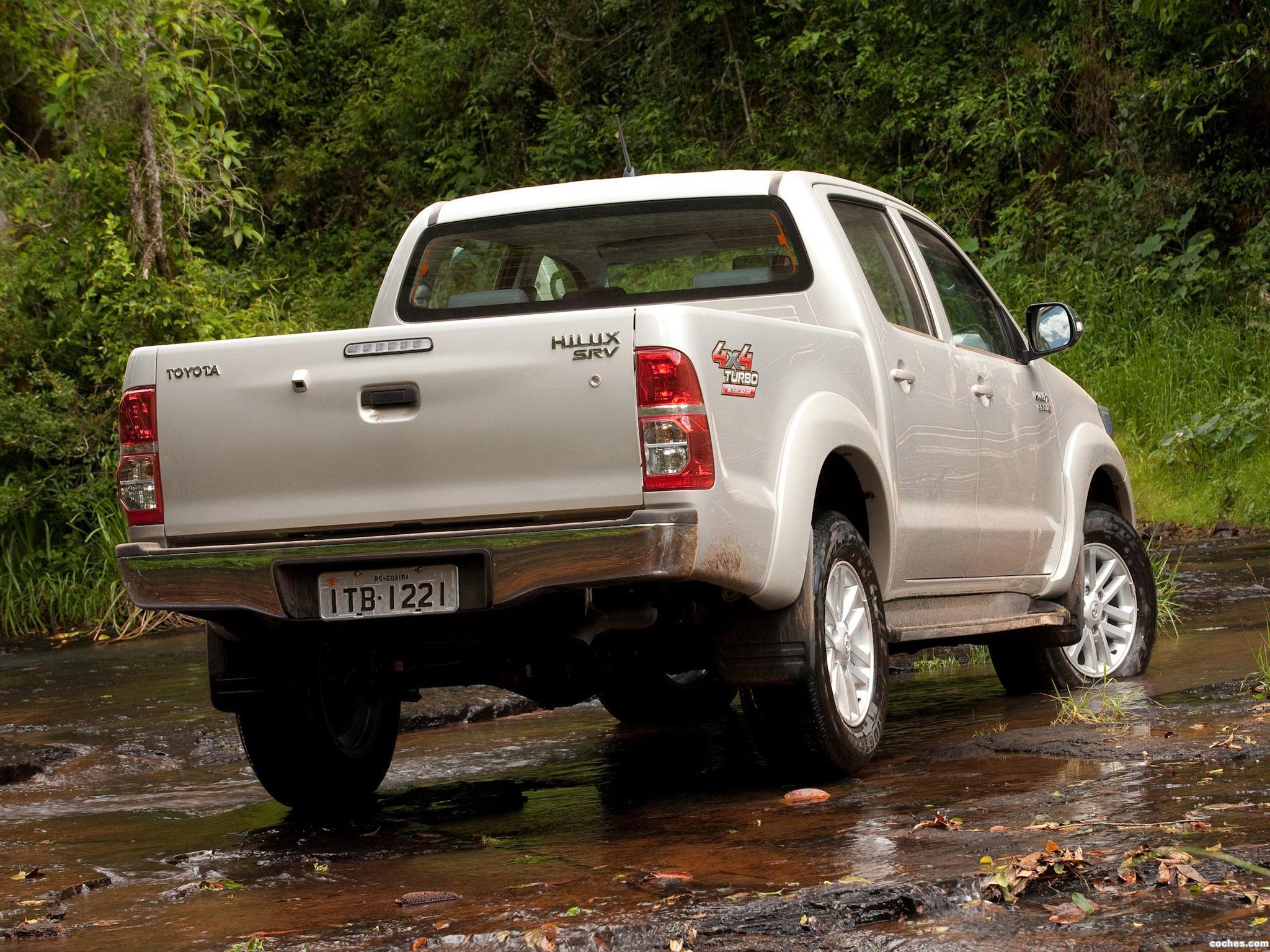 Foto 1 de Toyota Hilux SRV Double Cab 4x4 2012