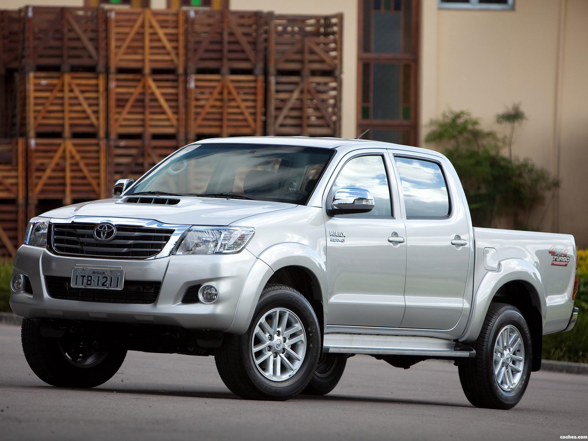 Foto 0 de Toyota Hilux SRV Double Cab 4x4 2012