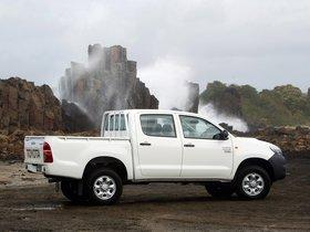 Ver foto 7 de Toyota Hilux WorkMate Double Cab 4x4 2011