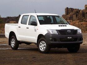 Ver foto 6 de Toyota Hilux WorkMate Double Cab 4x4 2011