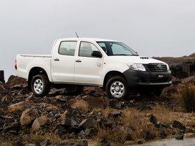 Ver foto 5 de Toyota Hilux WorkMate Double Cab 4x4 2011