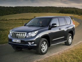 Ver foto 15 de Toyota Land Cruiser 150 Prado 5 door UK 2009