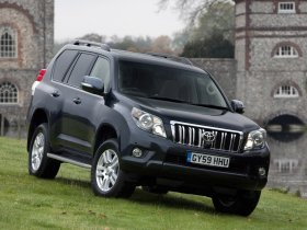 Ver foto 10 de Toyota Land Cruiser 150 Prado 5 door UK 2009