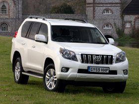 Ver foto 25 de Toyota Land Cruiser 150 Prado 5 door UK 2009