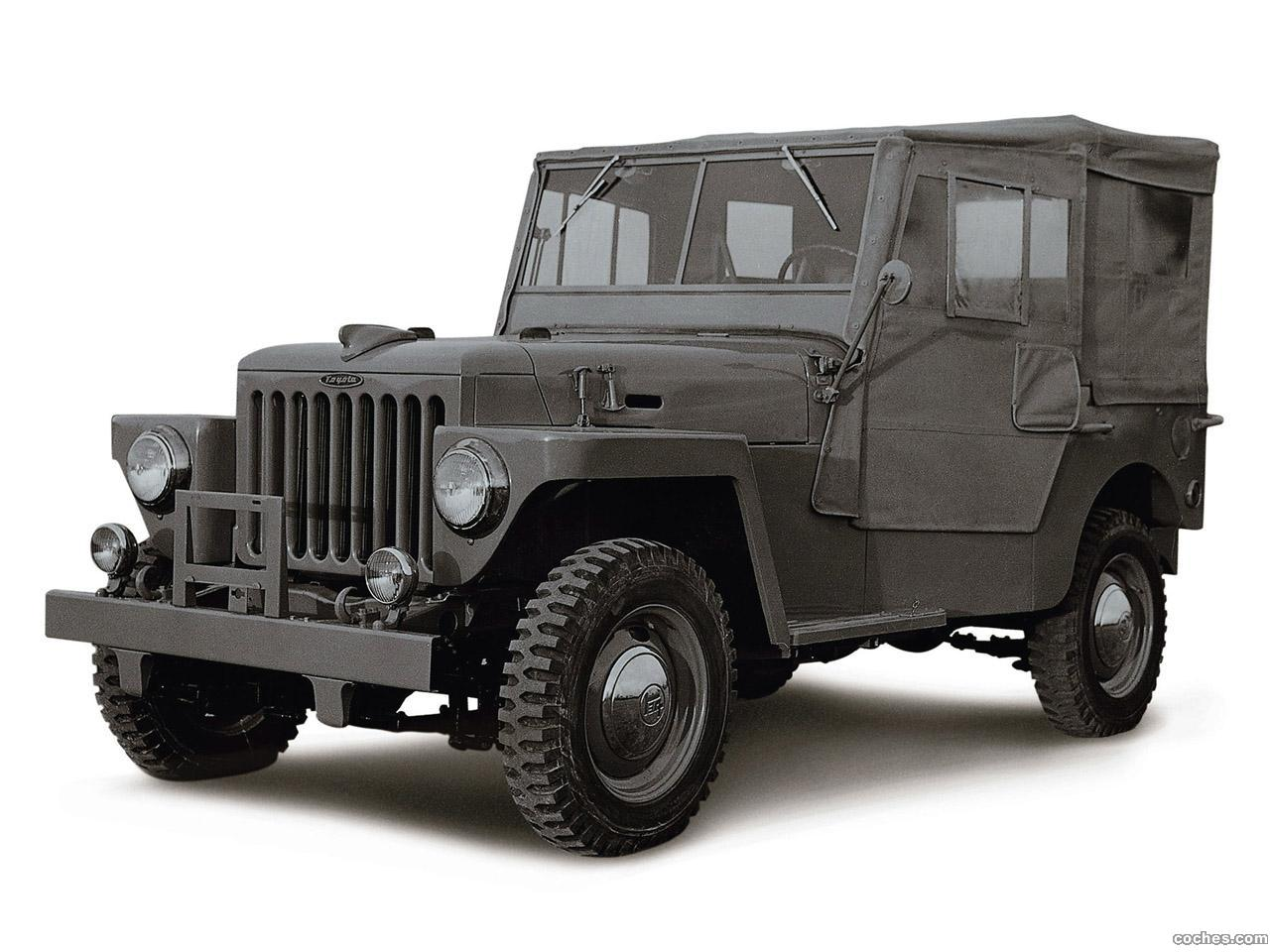 fotos de toyota land cruiser 25 bj 1954